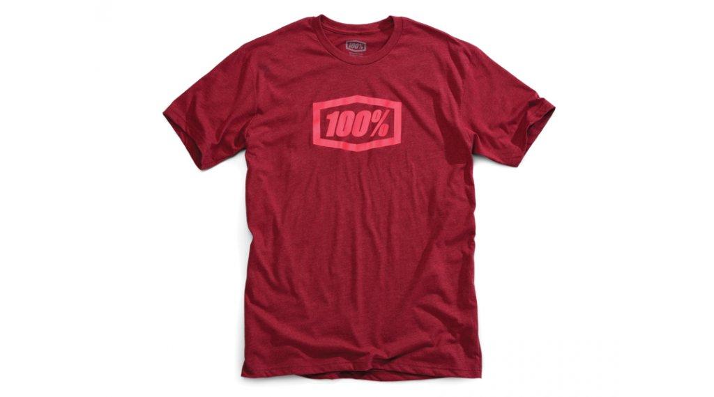 100% Essential T-Shirt 短袖 男士 型号 S burgundy