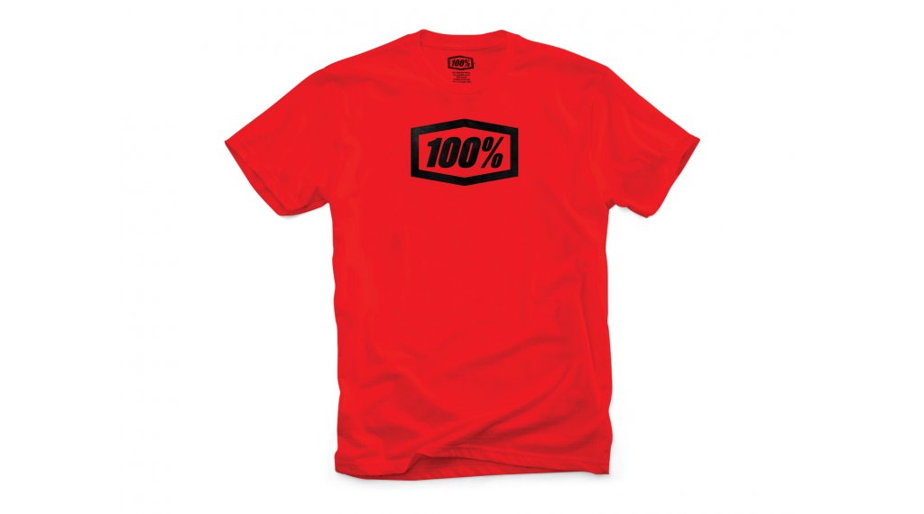 100% Essential T-Shirt 短袖 男士 型号 S red