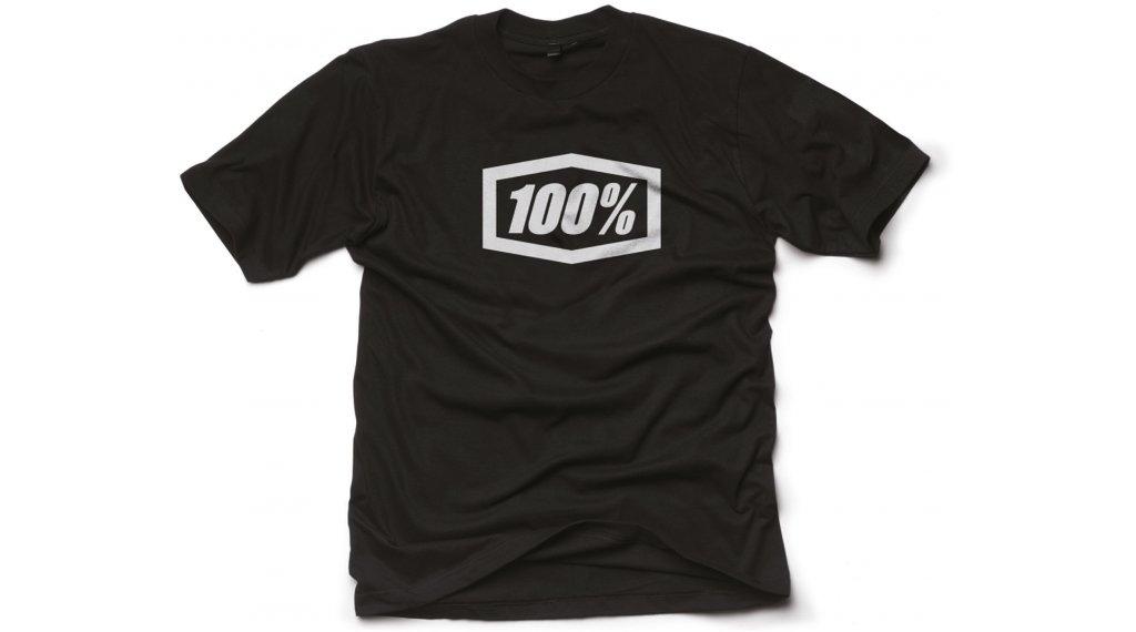 100% Essential T-Shirt 短袖 男士 型号 S black