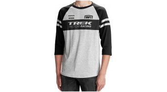 100% Trek Factory Racing Tech T-Shirt 3/4-arm dark grey/black