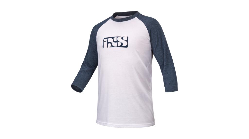 iXS Brand 6.1 T-Shirt 3/4-arm Herren Gr. S white / night blue