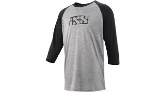 iXS Brand 6.1 T-Shirt 3/4-arm Herren Gr. S anthrazite/black