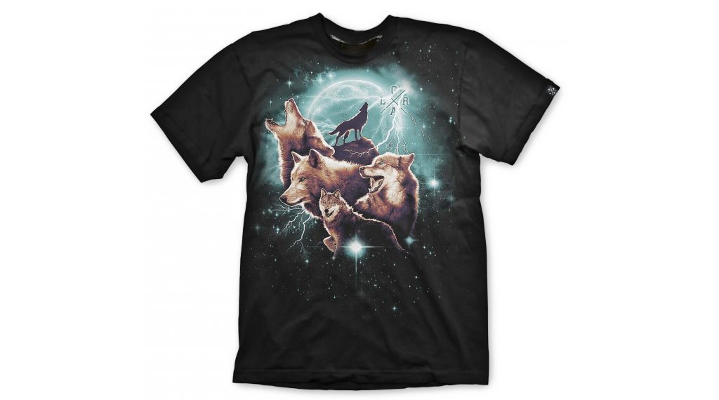 Loose Riders Wolfpack t-shirt Gr. S noir/turquise