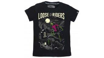 Loose Riders No Dig No Ride T-Shirt Kinder Gr. S black/grey