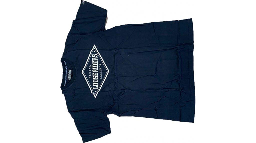Loose Riders Diamond T-Shirt kurzarm Herren Gr. S grey/black