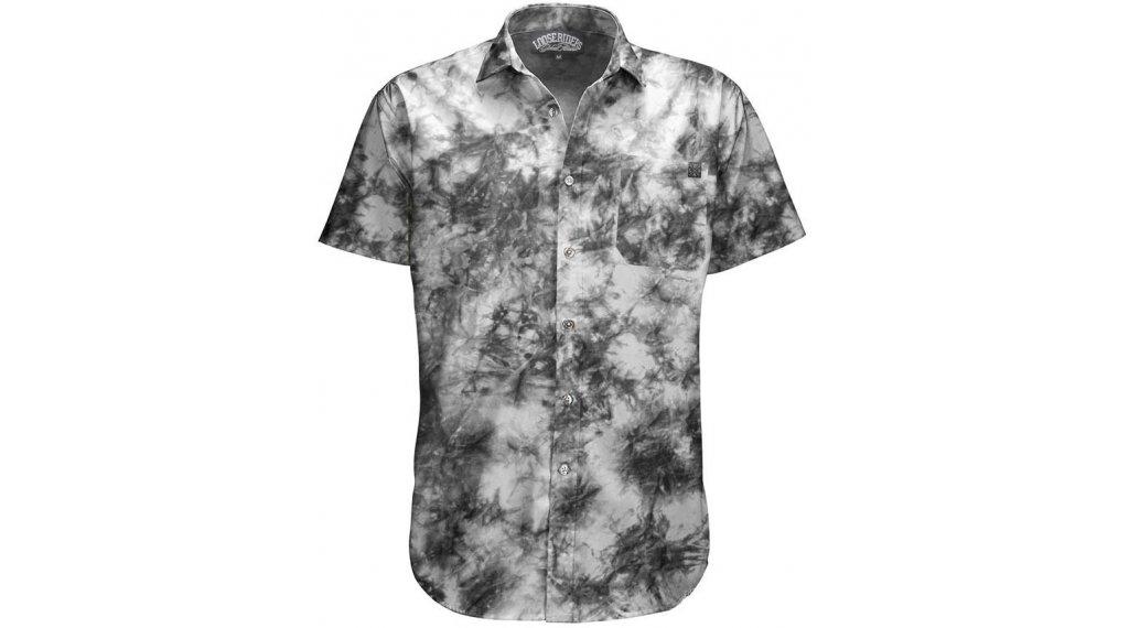 Loose Riders C/S Tie Dye Hemd kurzarm Herren Gr. S grey