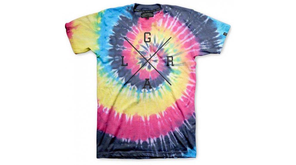 Loose Riders X-Logo T-Shirt kurzarm Herren Gr. S tie dye