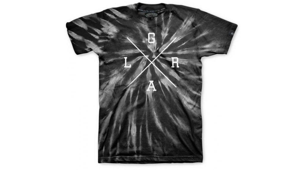 Loose Riders X-Logo T-Shirt kurzarm Herren Gr. S tie dye black