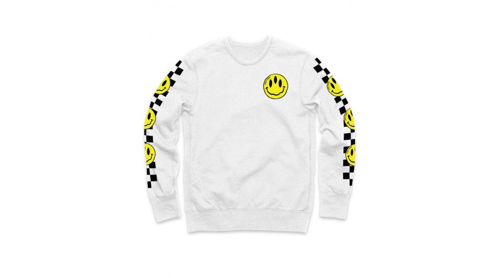 Loose Riders Stoked! White t-shirt Gr. L blanc/jaune