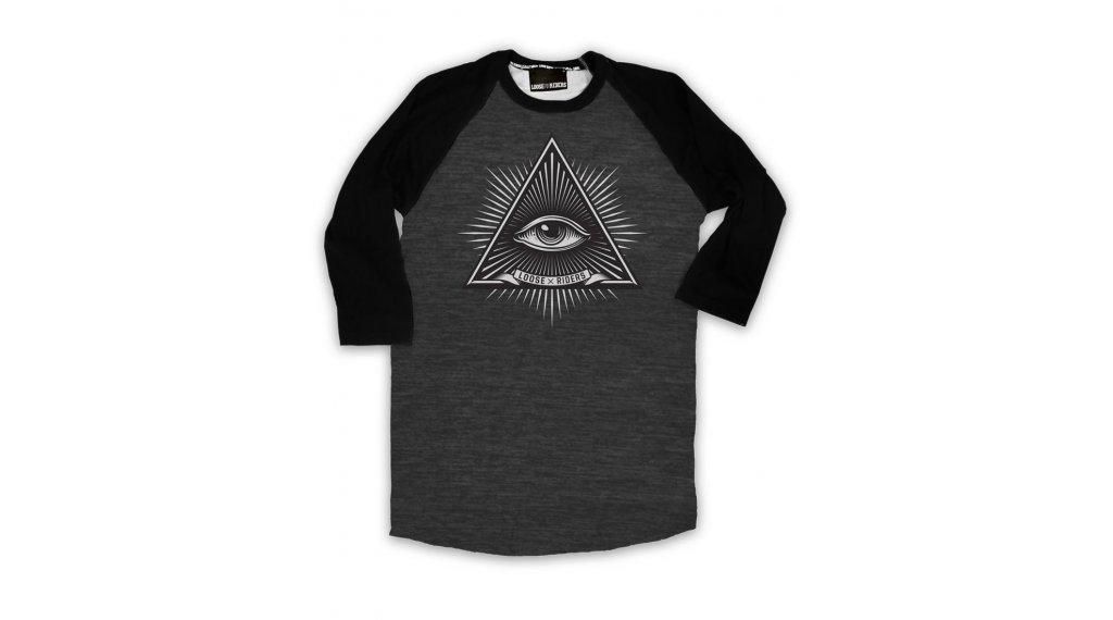 Loose Riders Third Eye Heater t-shirt Gr. M noir/gris