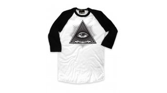 Loose Riders Third Eye White T-shirt black/white