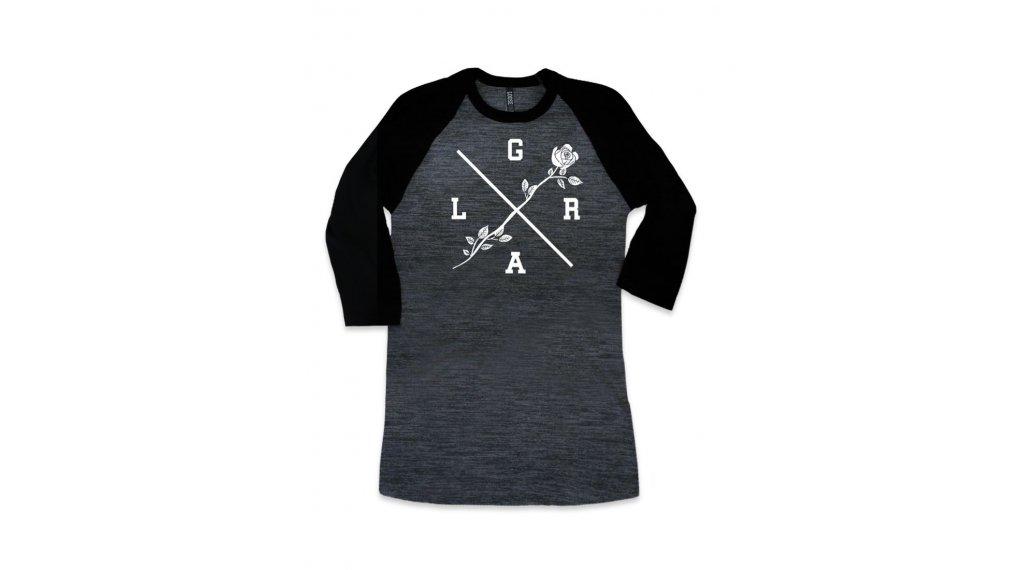 Loose Riders Rose Heather T-Shirt Damen Gr. S grey/black