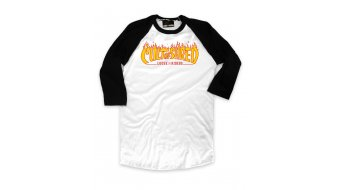 Loose Riders Cult of Shred White T-shirt long sleeve kids size XL white/yellow