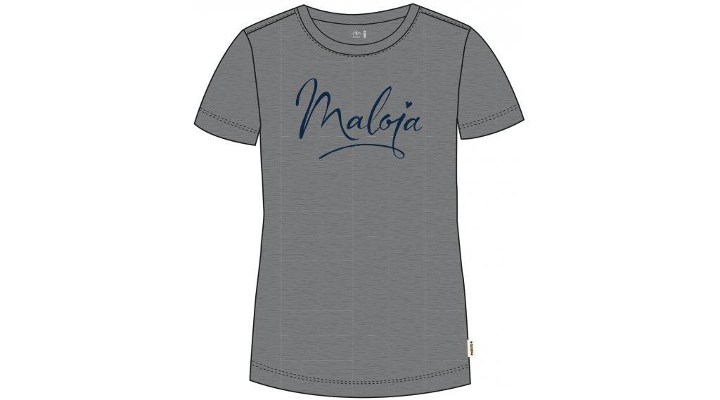 Maloja ForbeschaM. T-Shirt kurzarm Damen Gr. M grey melange