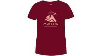 Maloja TurettaM. T-Shirt 短袖 女士 型号 M red monk- MUSTERKOLLEKTION