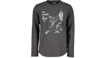 Maloja DornbirnM. T-shirt long sleeve men size M charcoal- Sample