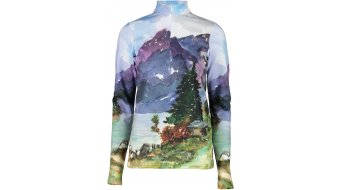 Maloja NaganaM. T-Shirt langarm Damen Gr. M wood multi - Sample