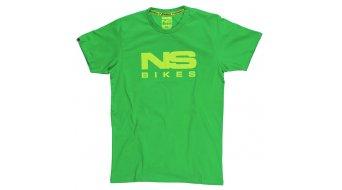 NS Bikes logo T-shirt short sleeve grey 2017