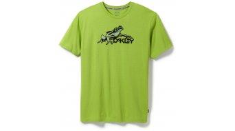 Oakley Jupiter Hydrofree camiseta de manga corta Caballeros-camiseta tamaño M lime verde