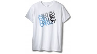 Oakley Quad Factory t-shirt manica corta uomo mis. S white (Regular Fit)