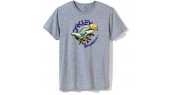 Oakley Rock The Frogskins camiseta de manga corta Caballeros-camiseta tamaño XXL heather grey (Regular Fit)