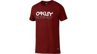 Oakley Factory Pilot Logo camiseta de manga corta Caballeros-camiseta (Regular Fit)