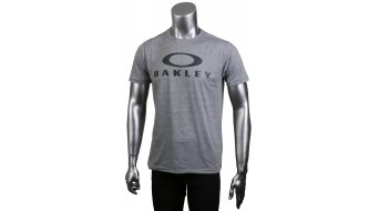 Oakley Logo Funktionsshirt kurzarm light heather grey