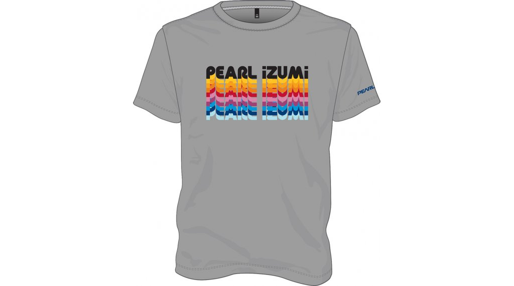 Pearl Izumi Graphic T-Shirt kurzarm Kinder Gr. L heather grey/multi cascade