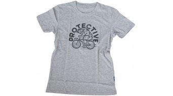 Protective FAIR4ALL Bear on Bike T-Shirt kurzarm Herren-T-Shirt grey melange