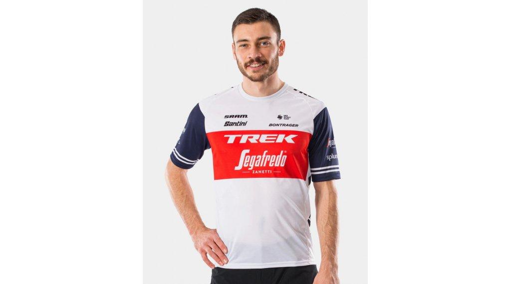 Santini Trek-Segafredo Team Tech T-Shirt kurzarm Gr. XS dark blue