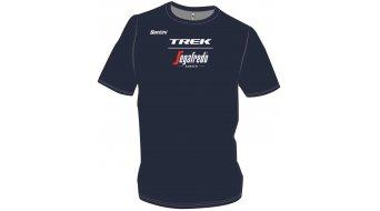Santini Trek-Segafredo Team T-Shirt kurzarm dark blue