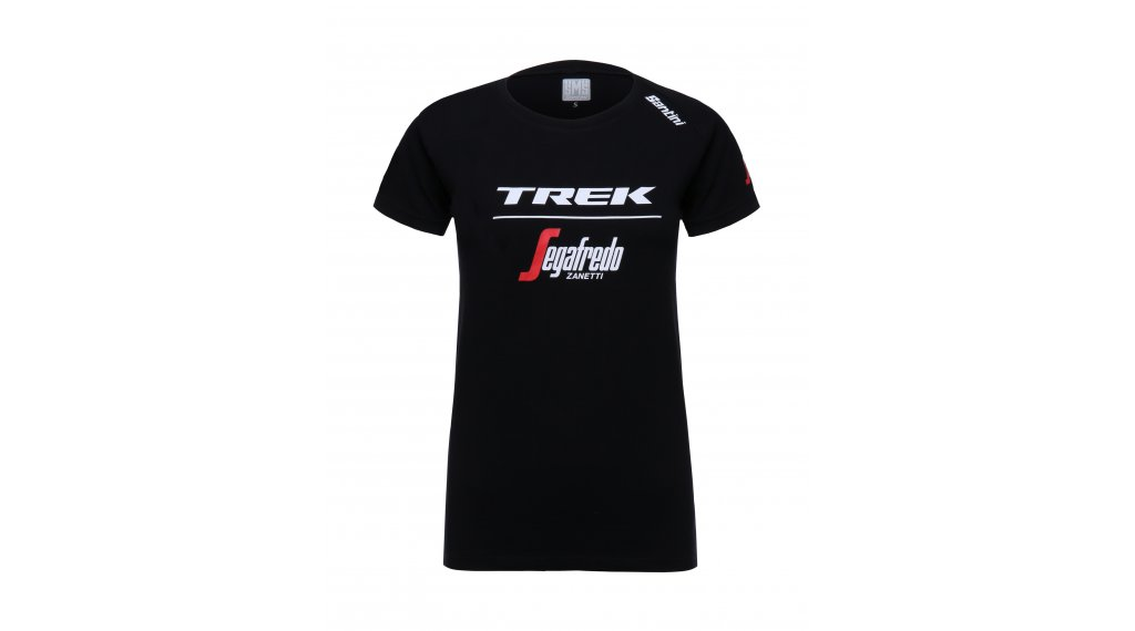 Santini Trek-Segafredo T-Shirt 男士 短袖 型号 XXL black 款型 2018