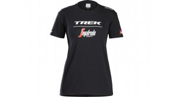 Santini Trek-Segafredo T-shirt Women korte mouw black model 2018