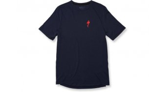 Specialized Drirelease S T-Shirt 短袖 型号 S navy/flo red