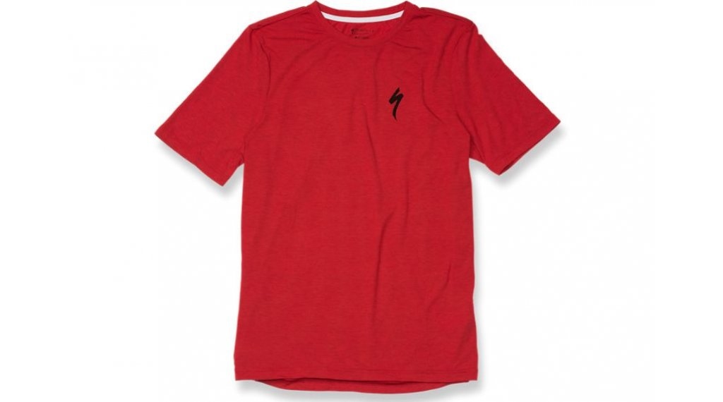 Specialized Drirelease S T-Shirt 短袖 型号 S red heather/black