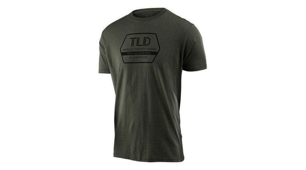 Troy Lee Designs Factory T-Shirt 短袖 男士 型号 S (SM) surplus green