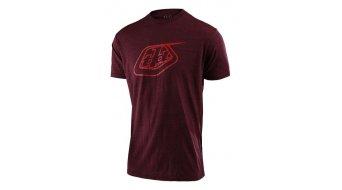 Troy Lee Designs Logo T-Shirt 短袖 男士 型号 SM (S) sangria