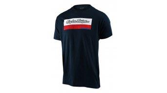 Troy Lee Designs Racing Block Fade T-Shirt kurzarm Herren navy
