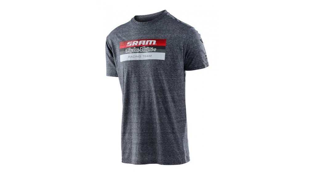 Troy Lee Designs SRAM Racing T-Shirt 男士 短袖 型号 SM (S) block vintage gray snow
