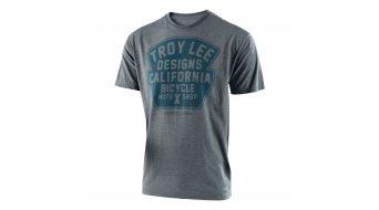 Troy Lee Designs Granger Solid T-shirt short sleeve men size S heather ash 2017