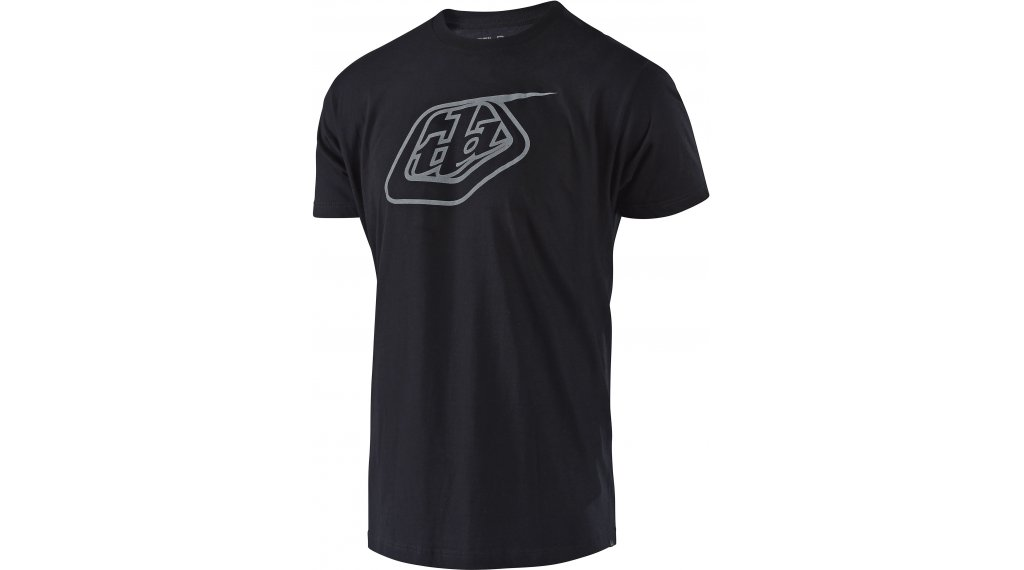 Troy Lee Designs Logo T-Shirt 短袖 男士 型号 S (SM) black/reflective