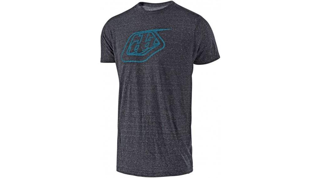 Troy Lee Designs Logo T-Shirt 短袖 男士 型号 S (SM) onyx/blue