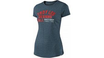 Troy Lee Designs Podium T-Shirt kurzarm Damen Gr. L (LG) indigo