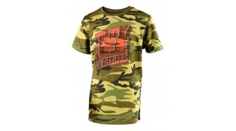 Troy Lee Designs Block Party T-shirt short sleeve kids camo army