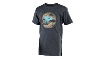 Troy Lee Designs Race Camo T-shirt short sleeve kids heather charcoal