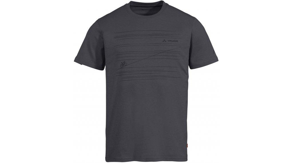 VAUDE Cyclist V T-Shirt kurzarm Herren Gr. S iron uni