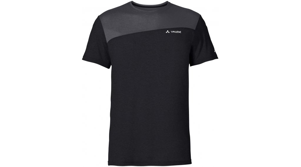 VAUDE Sveit T-shirt short sleeve men size L black/black