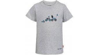 VAUDE Lezza T-Shirt kurzarm Kinder grey melange