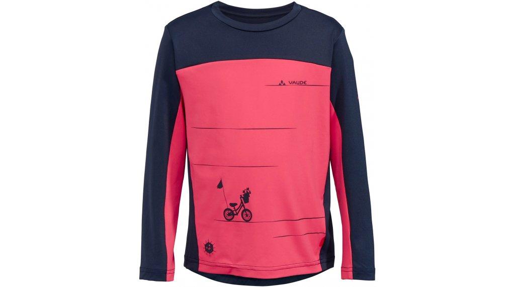 VAUDE Solaro Langarmshirt Kinder Gr. 110/116 bright pink