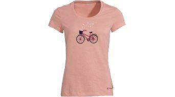 VAUDE Cyclist V T-Shirt kurzarm Damen Gr. 34 soft rose